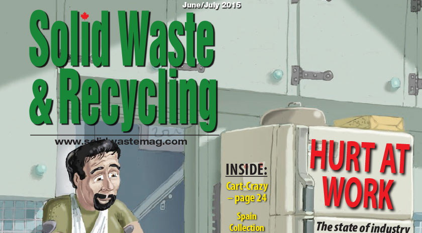 Reground Organics in Solid Waste Mag